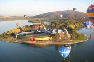 Canberra Hot Air Balloon Flight at Sunrise - Hervey Bay Accommodation